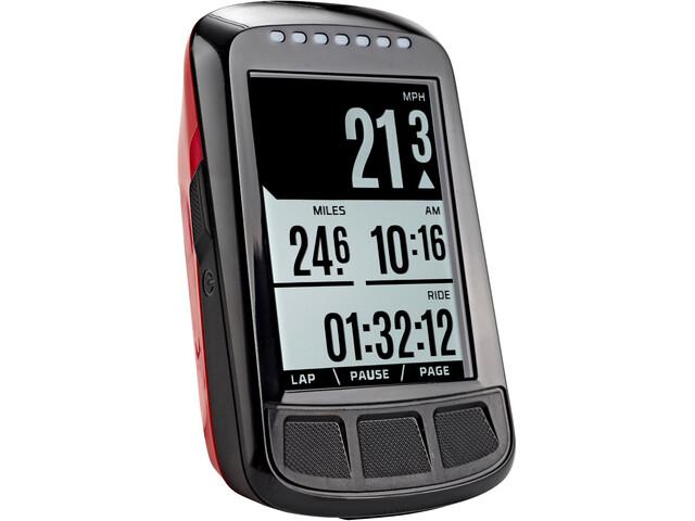 Wahoo Fitness Elemnt Bolt GPS fietscomputer rood/zwart
